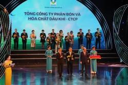 Phân bón Phú Mỹ là 'Thương hiệu Quốc gia' lần thứ 4 liên tiếp