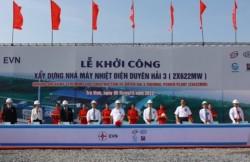 Khởi công xây dựng Nhà máy nhiệt điện Duyên Hải 3