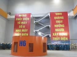Khánh thành Nhà máy thủy điện Sơn La vào ngày 23/12/2012