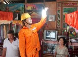 Giá điện tăng không tác động lớn đến sinh hoạt của người dân