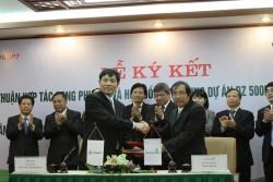 Ký hợp đồng tín dụng vốn cho dự án ĐD 500 kV Sơn La - Lai Châu