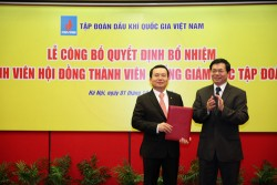 Mr. Nguyen Quoc Khanh has been appointed to the position of General Director of PetroVietnam