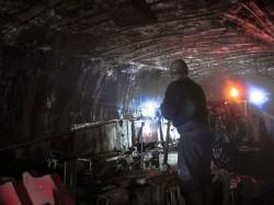 Mở vỉa than bằng cặp giếng đứng mỏ hầm lò Núi Béo