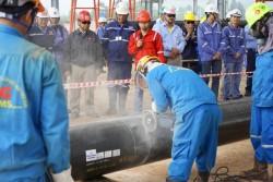 Lắp đặt kết cấu thép Dự án lọc hóa dầu Nghi Sơn