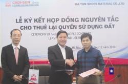 CADI-SUN tạo chính sách ưu đãi tại Cụm CN Lương Điền
