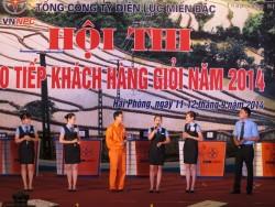 PC Bắc Ninh: Giải nhì hội thi thợ giỏi EVN NPC năm 2014
