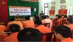 PC Bắc Ninh tập huấn nghiệp vụ phòng cháy chữa cháy