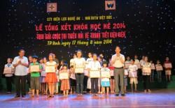 PC Nghệ An với phong trào thiếu nhi tiết kiệm điện