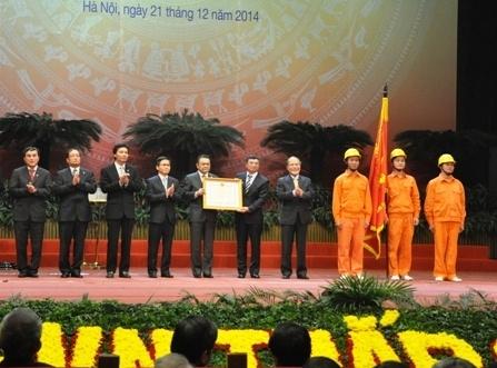 EVN đón nhận Huân chương Hồ Chí Minh
