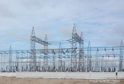 Đóng điện trạm biến áp 220kV Trung tâm Điện lực Duyên Hải