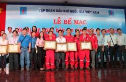 PV Drilling đạt giải Nhất Hội thi Tay nghề Dầu khí  2015