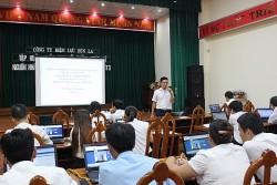 PC Sơn La: Tập huấn hệ thống phần mềm quản lý nhân lực