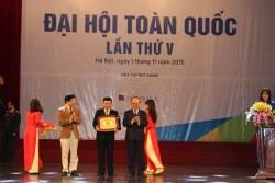 """PC Vĩnh Phúc nhận Bảng vàng """"Doanh nghiệp văn hóa năm 2015"""""""
