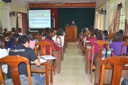 PC Thái Nguyên tập huấn tuyên truyền tiết kiệm điện