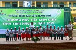 """PC Thái Nguyên với hoạt động """"Trường học tiết kiệm điện"""""""