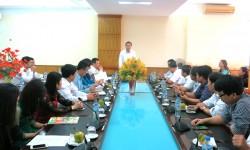 Công đoàn EVN làm việc tại PC Nghệ An