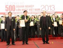 CADI-SUN: Top 500 doanh nghiệp lớn nhất Việt Nam