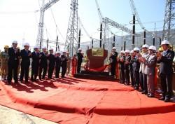 Gắn biển công trình đường dây 500kV Sơn La-Lai Châu