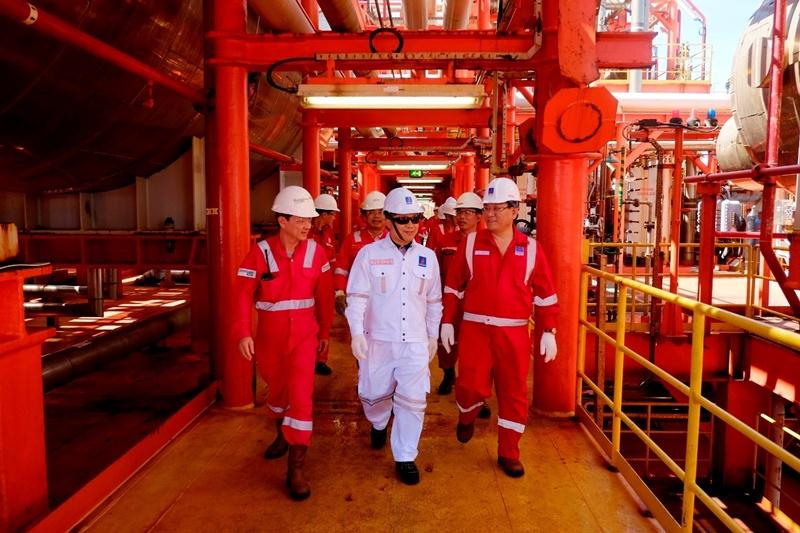 Sản lượng khai thác của PVEP về đích trước 30 ngày 1