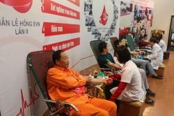 PC Sơn La tổ chức hiến máu tình nguyện