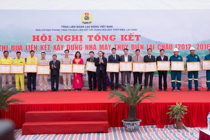 Thi đua liên kết góp phần để Thủy điện Lai Châu về đích sớm 1