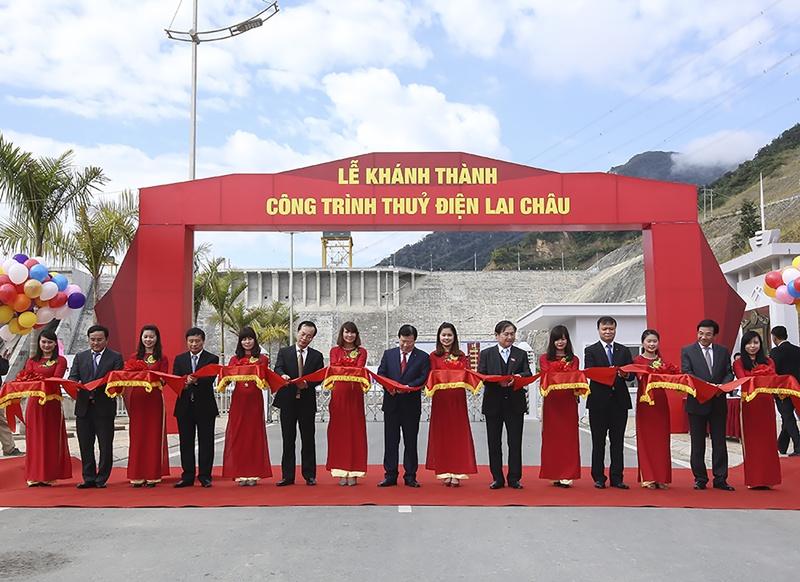 Khánh thành Công trình Thủy điện Lai Châu 1