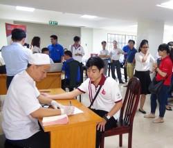 EVNSPC tham gia hoạt động hiến máu nhân đạo
