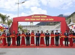 Khánh thành Công trình Thủy điện Lai Châu