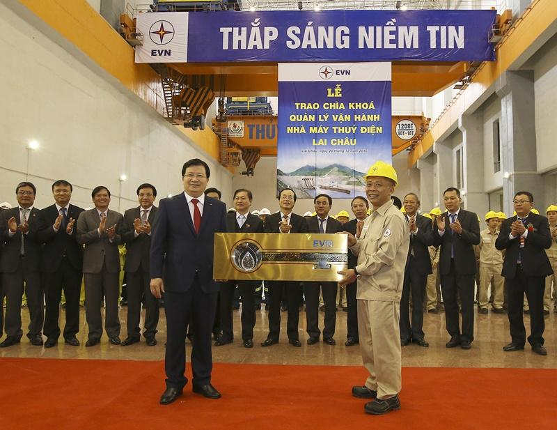 Khánh thành Công trình Thủy điện Lai Châu 2