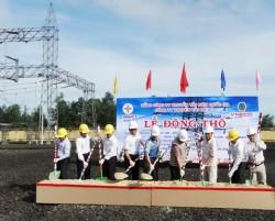 Động thổ công trình ĐZ 220kV Di Linh - Bảo Lộc (mạch 2)