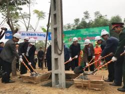 Khởi công dự án nâng cấp lưới điện vùng sâu tỉnh Thái Nguyên