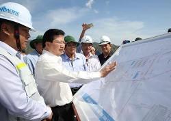 PTT Trịnh Đình Dũng làm việc tại Trung tâm Nhiệt điện Vĩnh Tân