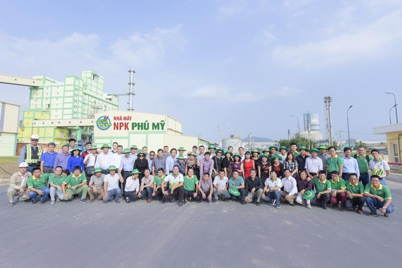 Công nghệ NPK hóa học từ Tây Ban Nha đã đến Việt Nam 1