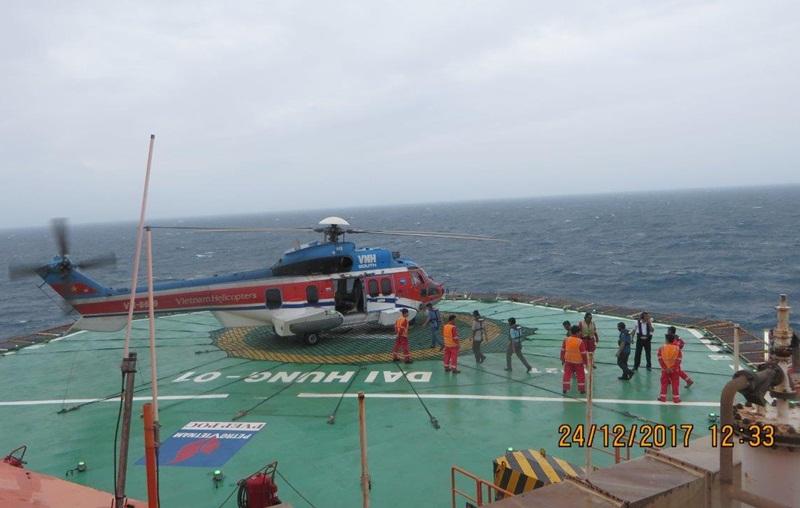 PVN chủ động ứng phó cơn bão Tembin 1
