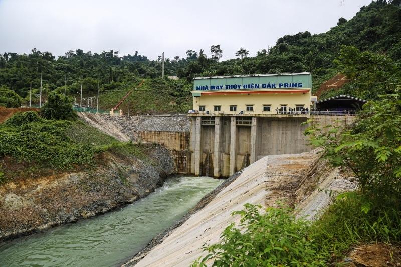 Khánh thành dự án Nhà máy Thủy điện Đắk Pring 1