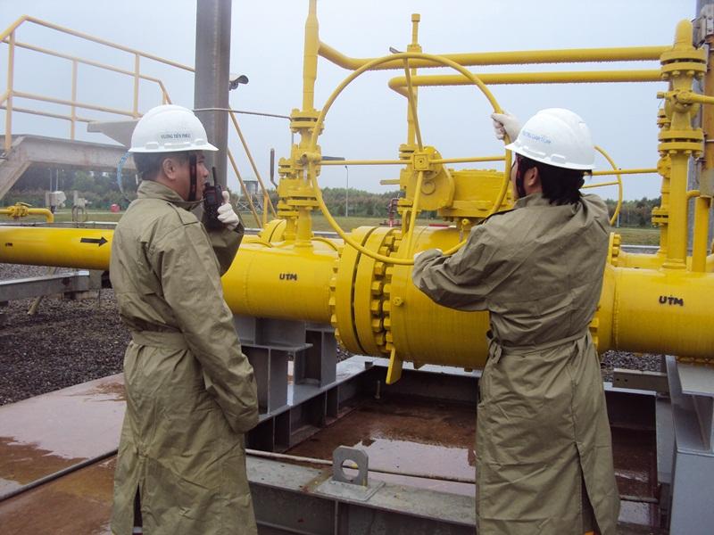 Đảm bảo an toàn các công trình khí trong bão Tembin 1