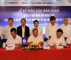 EVNNPC bàn giao lưới điện 110kV về các công ty điện lực