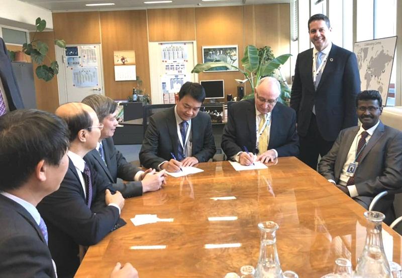 VINATOM ký Thỏa thuận thiết lập Trung tâm hợp tác với IAEA