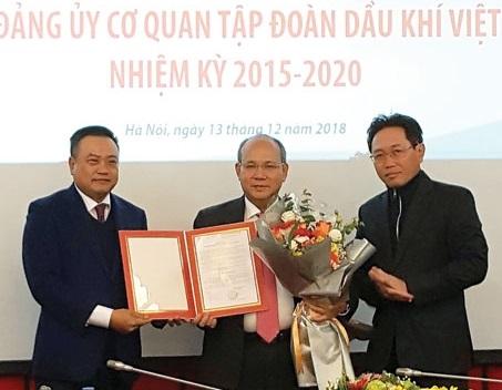 Công bố quyết định Bí thư Đảng ủy cơ quan PVN