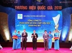 """PVFCCo năm thứ 3 được công nhận là """"Thương hiệu Quốc gia"""""""