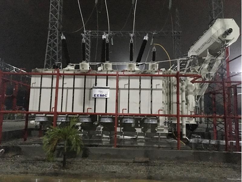 Đóng điện giai đoạn 1 trạm biến áp 220kV Dung Quất