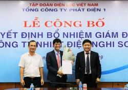 Công bố quyết định bổ nhiệm Giám đốc Công ty Nhiệt điện Nghi Sơn