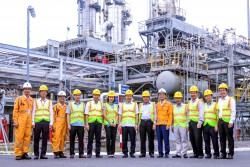 Đoàn công tác Văn phòng Trung ương Đảng làm việc tại PV GAS