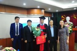 VPI trao Bằng tiến sĩ cho 2 nghiên cứu sinh ngành Kỹ thuật Dầu khí