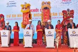 Khởi công dự án Nhà máy điện gió Tân Thuận