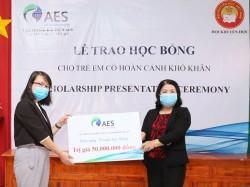 AES Việt Nam trao tặng 120 suất học bổng cho học sinh tại Bình Thuận