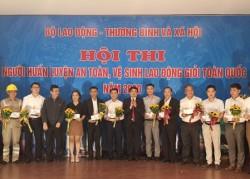 EVNHANOI giành giải A 'Người huấn luyện ATVSLĐ giỏi toàn quốc 2020'