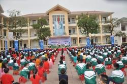 Sôi nổi hoạt động 'Trường tiểu học chung tay tiết kiệm điện' tại Hà Tĩnh