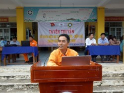 PC Đồng Tháp tuyên truyền tiết kiệm điện đến với sinh viên