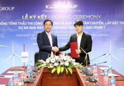 Bước tiến mới của dự án điện gió Kosy Bạc Liêu